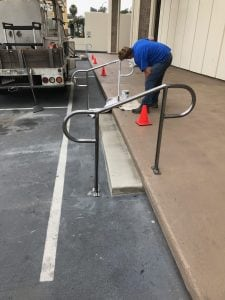Commercial Property Handrail Repair and Construction | Royal Oak Property Services