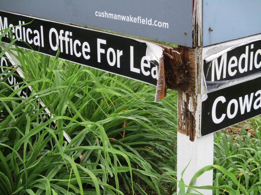 Royal Oak Property Services | Signage Improvement